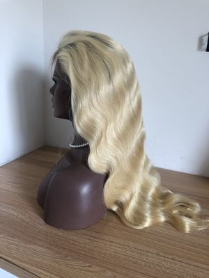 1b/613 body wave lace front wig